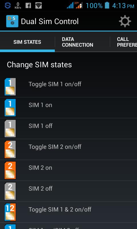 ডুয়াল সিম মেনেজ করার ও Data Connection On & Off করার দারুন একটি এন্ড্রইড এপস App Size Only 500Kb