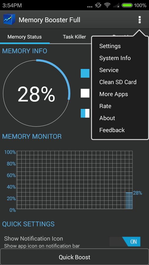 আপনার Android ফোনের Ram কে শক্তিশালী করুন,এবং ফোনের স্লো ভাব দুর করুন,ছোট একটি এপস দিয়ে