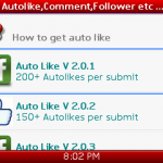 100% Fully New Facebook Autolike System. Token by Nokia Account.