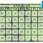 অসাধারণ একটা Online Calendar Code