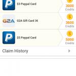 Tap cash Rewards Earn Daily 2-4 dollar
