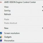 how to remove catalyst control center in refresh button