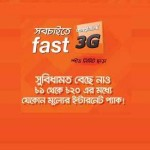 Banglalink lunched 1tk to 20tk total 20  internet  data packege for all prepaid &post-paid  customer.