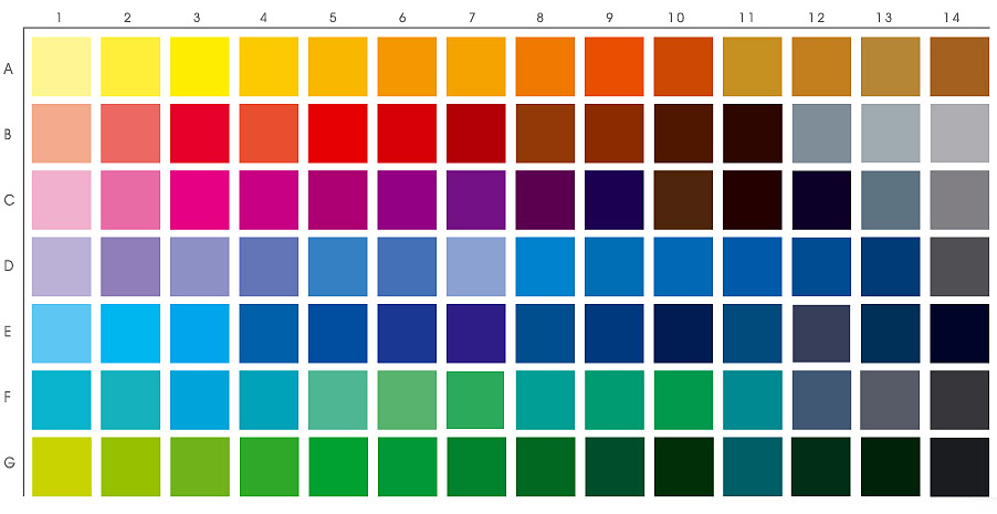 Add 512 Commonly Used Hexadecimal Color Chart in Your Site