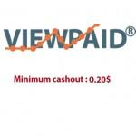 সকল পিটিসি অপেক্ষা বেস্ট Viewnpaid সাইটের মাধ্যমে আয় করুন এবংMinimum payout $0.20, Perfectmoney,Paypal, Bkash তে ডলার WITHDRAWAL করুন !!!