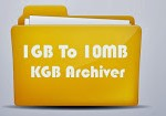 1 GB'র ফাইলকে মাত্র 10 mb বানিয়ে ফেলুন ! (with KGB Archiver) With Screenshot
