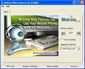 এবার WEBCAM হিসেবে ব্যাবহার করুন আপনার নোকিয়া মোবাইলটি (Mobiola Webcam full version)