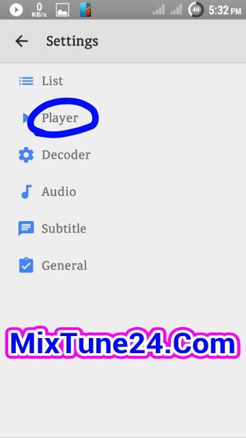 আপনি চাইলেই বানাতে পারেন আপনার MX Player কে অডিও ও ভিডিও প্লেয়ার ।। কেউ মিস কইরেন না ।।  (With S-Shot)