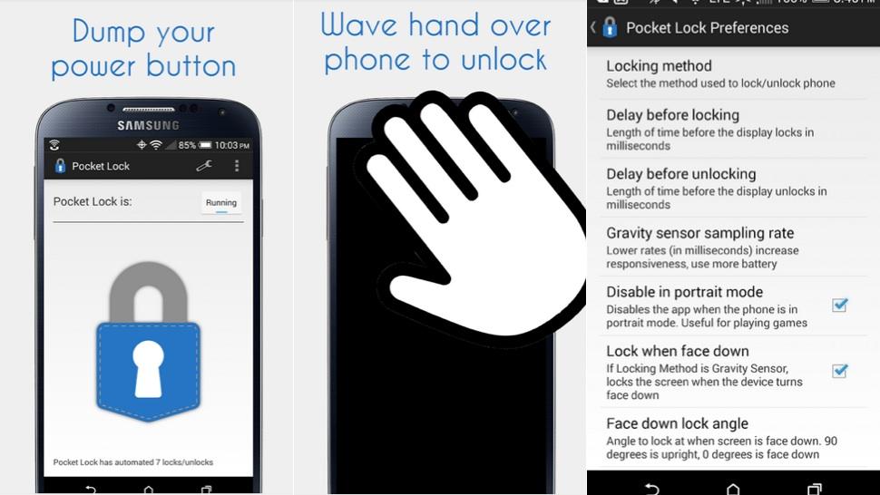আপনি যখন আপনার Android ফোনটি পকেটে রাখবেন তখন Automatic লক হয়ে যাবে। আর পকেট থেকে বের করলেই আনলক হবে।
