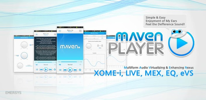 অাপনার Android ফোনের জন্য নিন অসাধারণ একটি মিউজিক প্লেয়ার MAVEN Music Player (3D,Lyrics) সহ।   Don't miss it