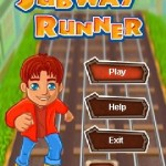 JAVA মোবাইল এর জন্য Android এর Subway Runner গেম
