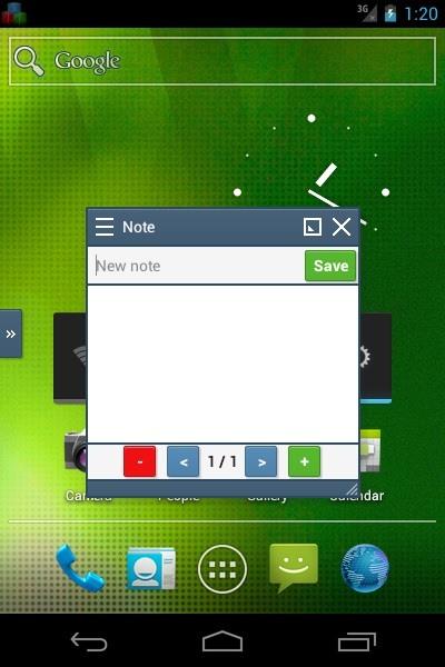 Samsung Multitasking on android Na dekhle miss