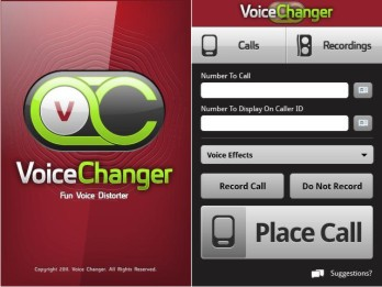 Get voice changer app for your phone & make your friends surprise