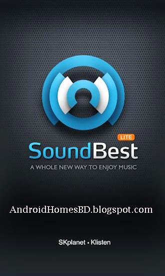 """আপনার অ্যান্ড্রয়েড মোবাইলের জন্য নিয়ে নেন অসাধারন একটি মিউজিক প্রেয়ার""""SoundBest: Music Player.apk""""।"""