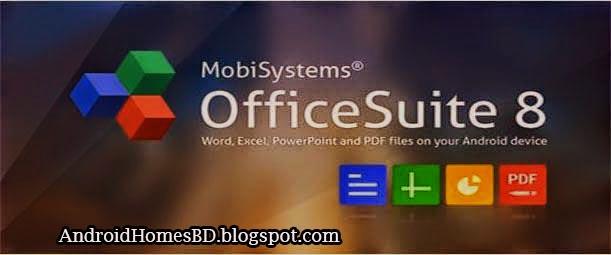 """ডাউনলোড করুন খুব কাজের একটি apps """"OfficeSuite Pro 8+PDF.apk""""হয়তো আপনি এটাই খুজছিলেন।"""