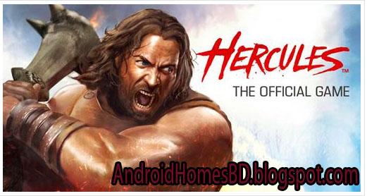 """আপনার এন্ডোয়েড মোবাইলে খেলুন অসাধারন HD,Action কোয়ালিটি সম্পন্ন একটি গেইম""""Hercules: The Official Game""""।মেগাবাইট আপনার সাধ্যের মধ্যে।"""