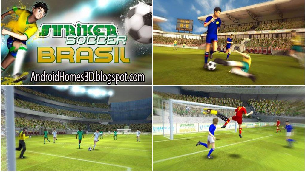 """Football গেইমের ব্রাজিল ও র্জামানিরা ভক্তরা আপনার এন্ডোয়েড মোবাইলে খেলুন অসাধারন Graphics কোয়ালিটি সম্পন্ন একটি Football গেইম""""Brazil Germany World Cup.Football""""।মেগাবাইট আপনার সাধ্যের মধ্যে।"""