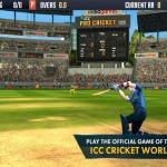 """ক্রিকেট পাগলারা আপনার এন্ডোয়েড মোবাইলে খেলুন অসাধারন Graphics কোয়ালিটি সম্পন্ন একটি ক্রিকেট গেইম""""ICC Pro Cricket 2015""""।মেগাবাইট আপনার সাধ্যের মধ্যে।"""