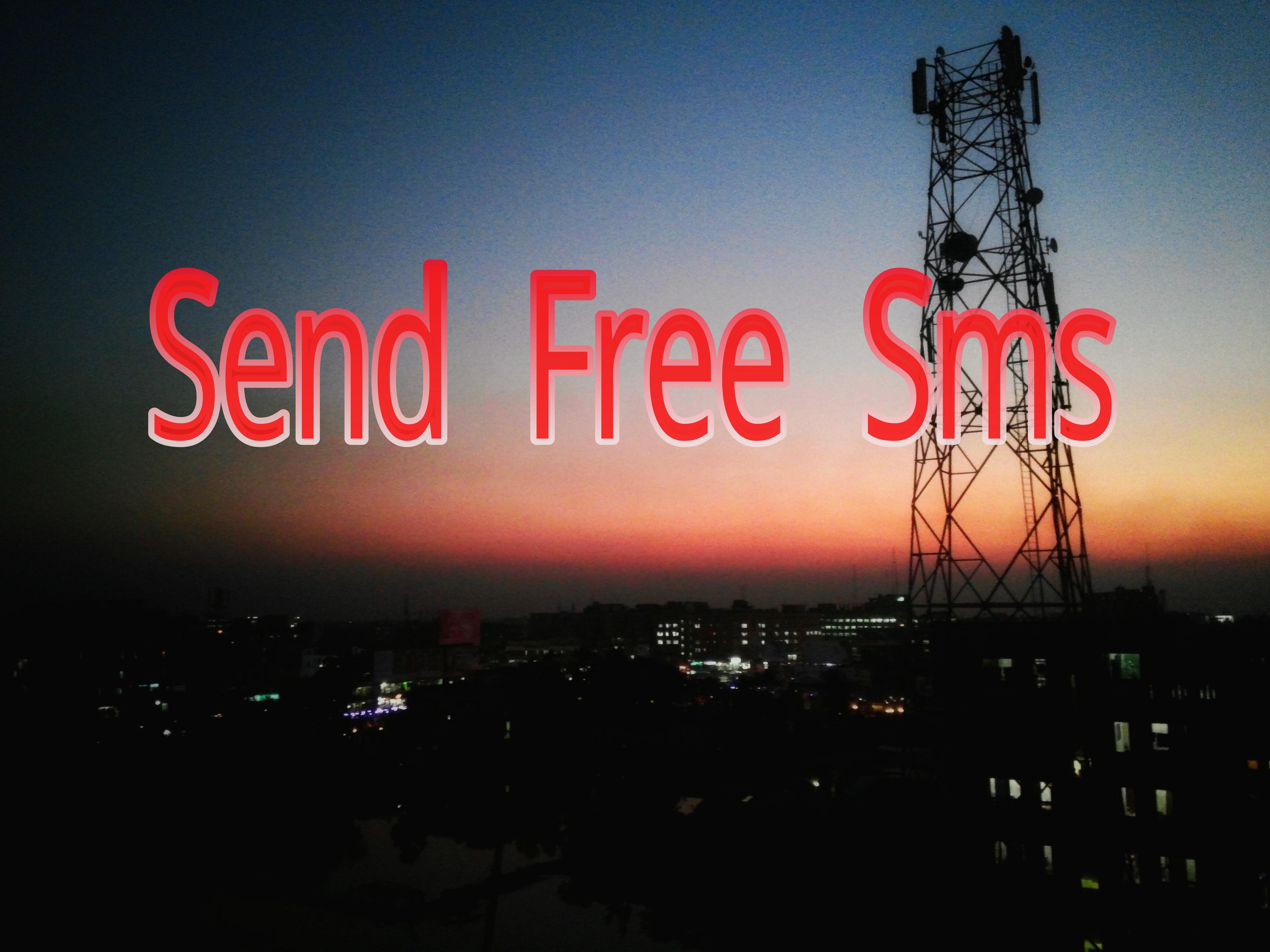 হাজার হাজার SMS করুন যেকোন দেশে যেকোন নাম্বারে একদম ফ্রিতে।তাও আবার নাম্বার হাইড করে।