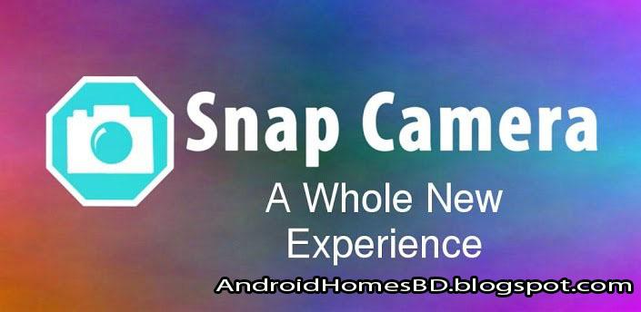 """আপনার এন্ডোয়েড মোবাইলে ব্যবহার করুন 2.8$ মূল্যের ক্যামেরা এ্যাপ""""Snap Camera HDR.apk""""যার পারফোমেন্স দেখে অবাক হয়ে যাবেন।তাও আবার পেইড এবং লেটেস্ট ভার্সন।"""