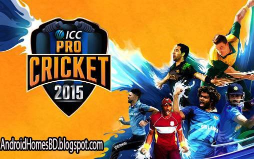 """""""ICC Pro Cricket 2015""""অসাধারন Graphics কোয়ালিটি সম্পন্ন একটি ক্রিকেট গেইম।মেগাবাইট আপনার সাধ্যের মধ্যে।"""