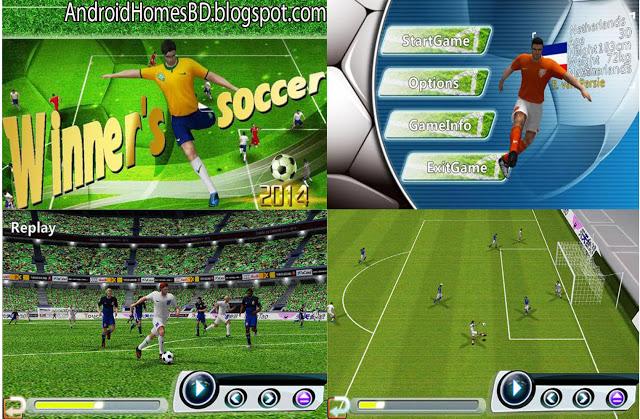 """Winner's Soccer:Evolution Elite"" ফুটবল পাগলাদের জন্য অসাধারন এই গেইমটি।মেগাবাইট আপনার সাধ্যের মধ্যে।"