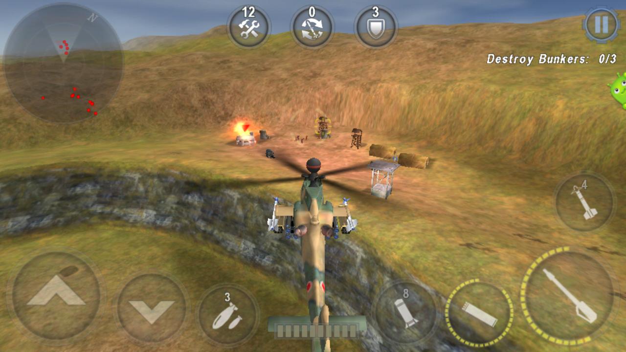 নিয়ে নিন অসাধারণ একটি action গেম Gunship battle:helicopter 3d mod+apk+data মানে unlimited money+gold,গেম টি আপনাকে মুগ্ধ করে দিবে(last update 25Apr 2016)
