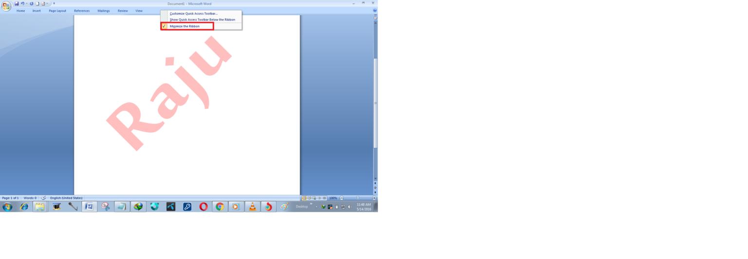 Microsoft Word 2007 by Raju 5
