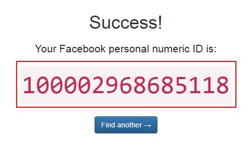 FB-Find my Facebook ID-2