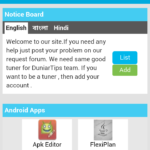 Duniartips Latest Application Menu Shared with css