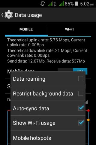 আপনার Android  ফোনে অতিরিক্ত MB খরচ হচ্ছে?? নিয়ে নিন সমাধান (যারা জানেন না)