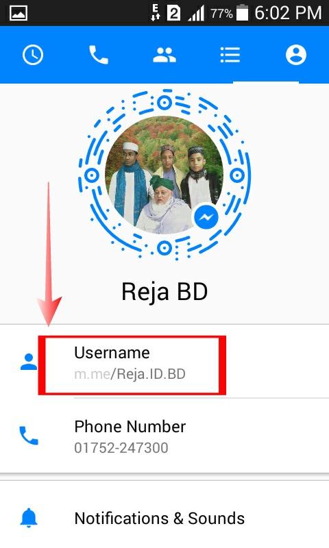 [100% Hot Post] এবার ফেইসবুক Messenger  দিয়ে, যতবার খুশি ততবার ফেইসবুকের  User Name Change করুন,  Screnshort সহ দিলাম। by Reja