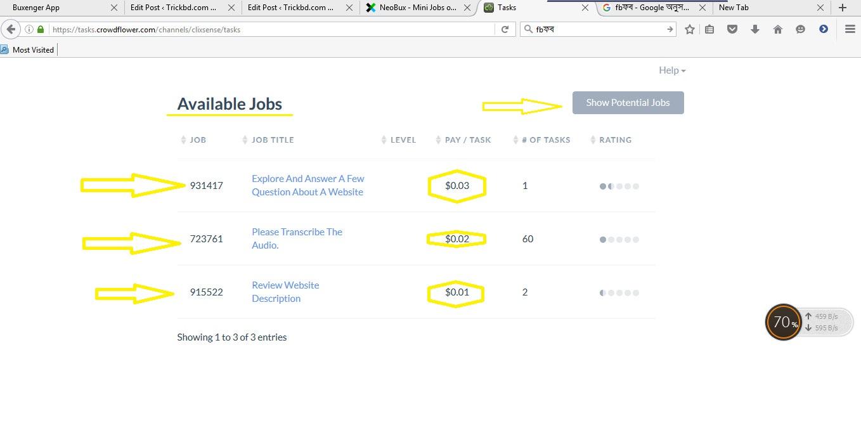 কি ভব Neobux এবং Clixsense এর মাধ্যমে করবেন Mini Jobs করবেন……।