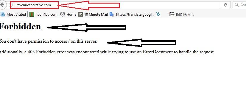 breaking news  revenuesharefive এই PTC Site টি একটি Scam Site।