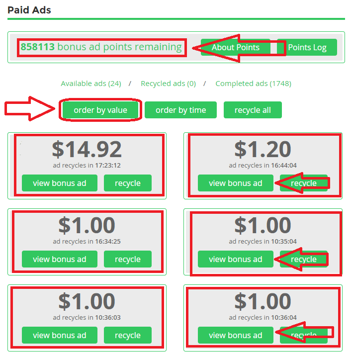 Paidverts থেকে প্রতিদিন ১$-3$ আয়ের সব কিছু বিস্তারিত (Screenshots সহ বর্ণনা)