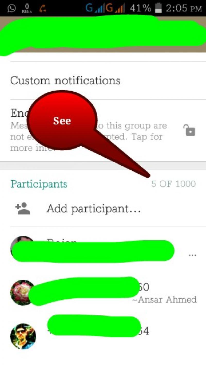 (Root) এবার What'sApp গ্রুপে ১০০০-২০০০ মেম্বার এড করুন খুব সহজে।(With ScreenShot)