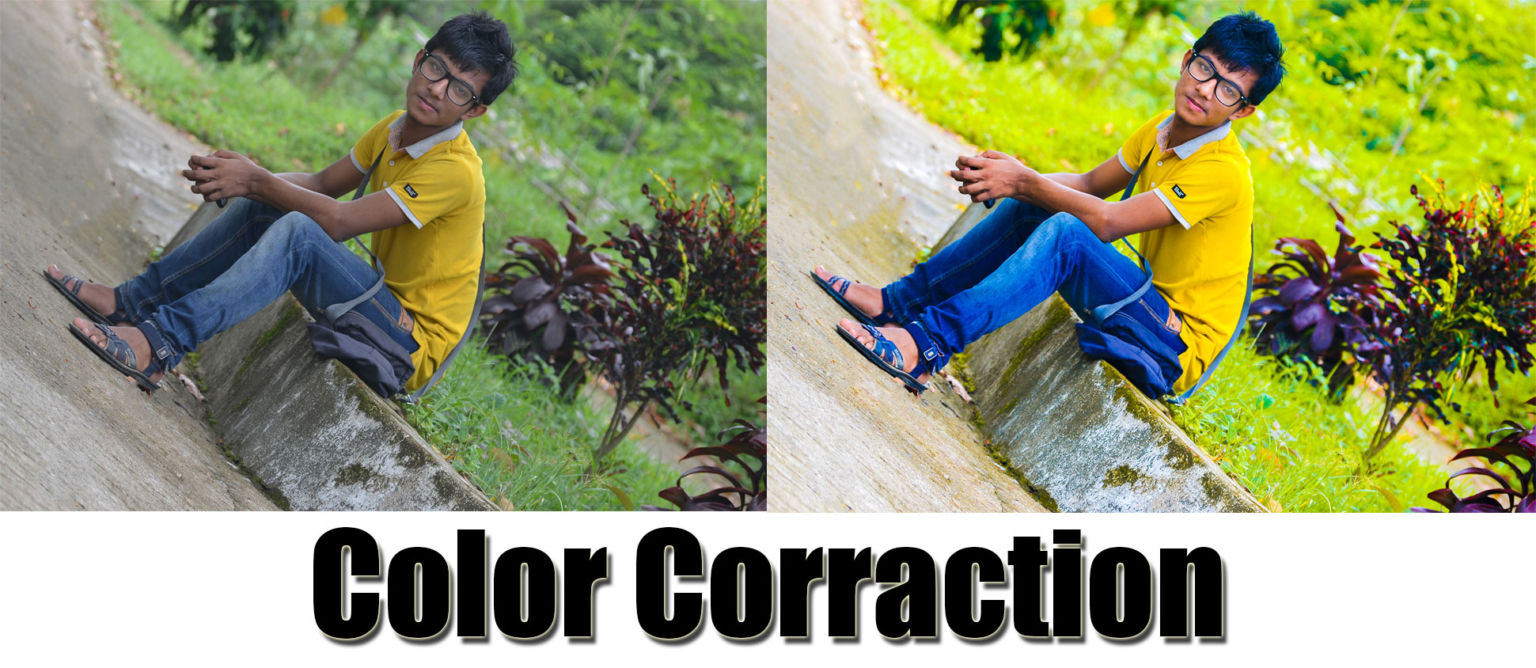 এখন photoshop দিয়ে color correction করুন খুব সহজে