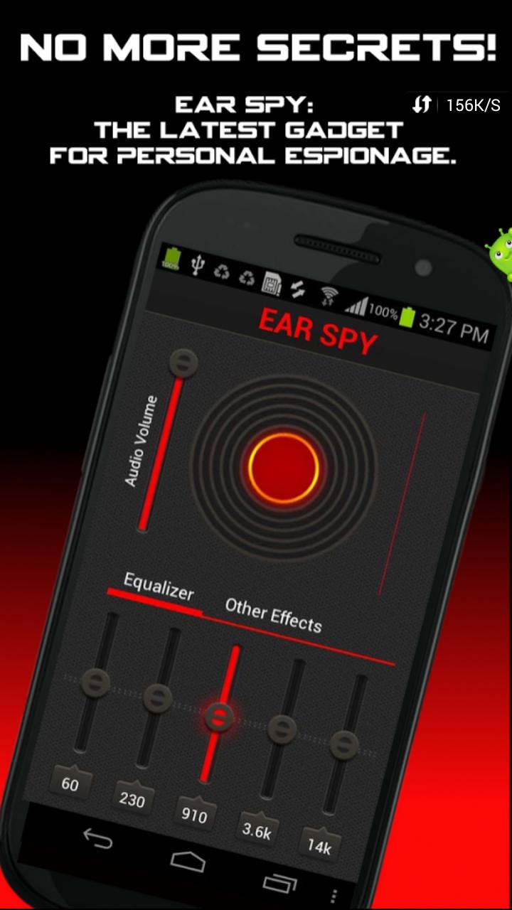 Ear Spy pro-অনেক দূরের কথা স্পষ্ট শুনুন আপনার ফোন ব্যাবহার করে,অনেক কাজের একটা অ্যাপ ব্যাবহার করে দেখুন(latest+pro)