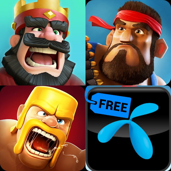 free clash of clan in gp sim