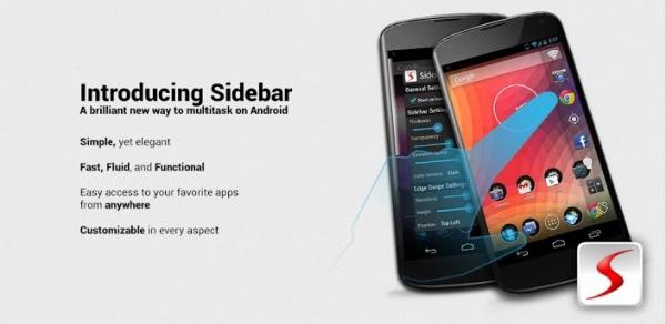 নিয়ে নিন Sidebar Pro  দারুন একটি পেইড এপস (Android)  মাত্র ২২৯ কেবি