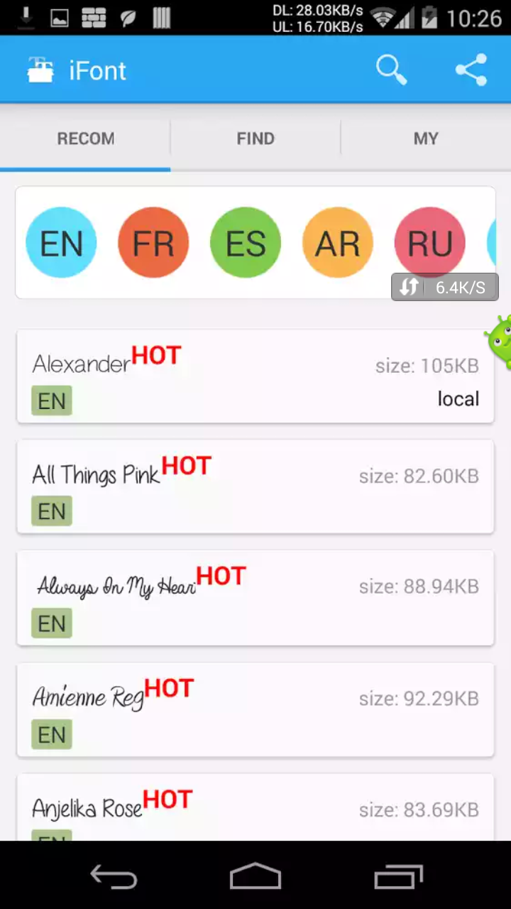 কোন ঝুঁকি ছাড়ায় আপনার ফোনের font/লিখা গুলা কে স্টাইলিশ করুন নিয়ে নিন অসাধারণ ২টি font changer এর premium version,অনেক font add করা হয়েছে(Last update 09-10-16)