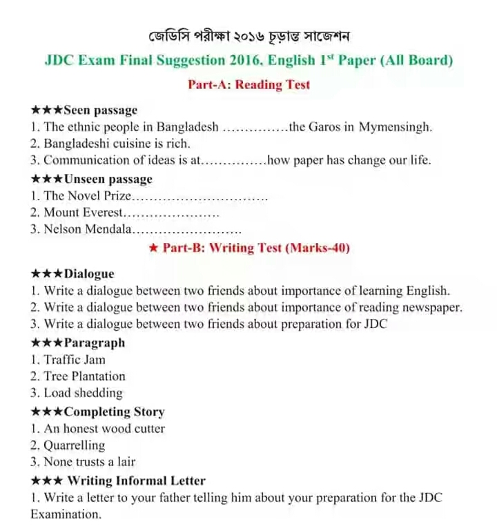 dialogue writing between two friends regarding final exams