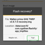 [Hot post] এবার আপনার ফোনে Custom Recovery Install হবেই। [Full Tutorial] In 3 Process With Screenshot By Shovo