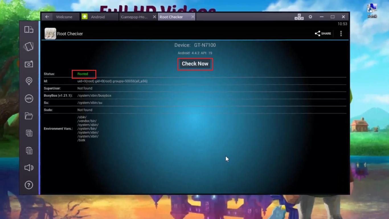 Как сделать рут на андроиде 4.4.2