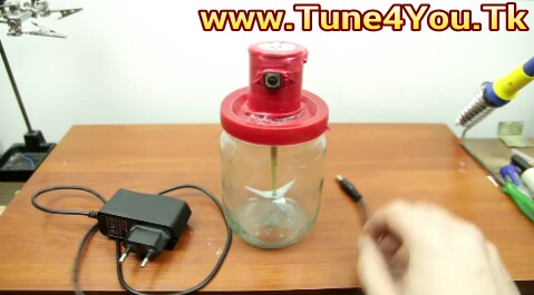 ঘরে বসেই তৈরি করে ফেলুন ব্লেন্ডার..How To Make A Blender At Home..