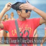 খুব সহজে ছবির ব্যাকগ্রাউন্ড পরিবর্তন করুন Quick Selection Tool এর মাধ্যমে Like Dslr Photo