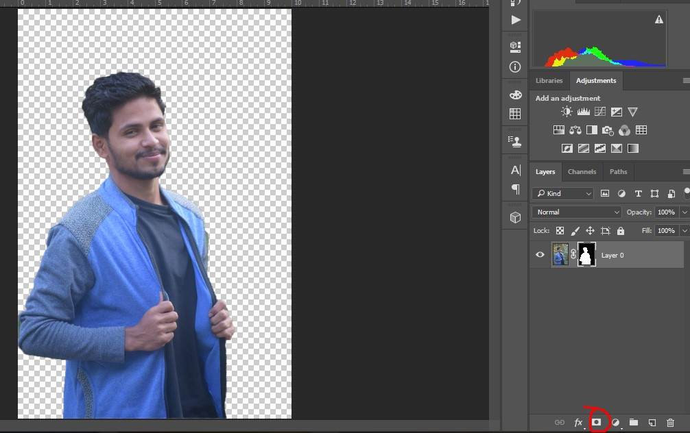 Color Correction in adobe photoshop