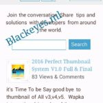 2017 Forum Update Jquiry Working Thumbnail & Continue Read System