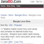 Top 10 Bangla Love Sms 2017