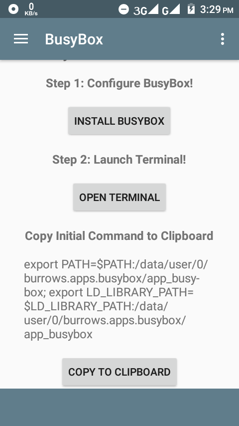 how to use busybox no root